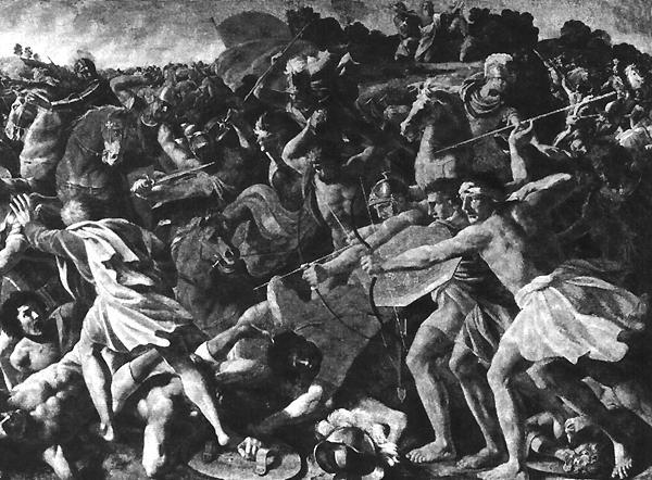 Н. Пуссен Битва Иисуса Навина с амалекитянами