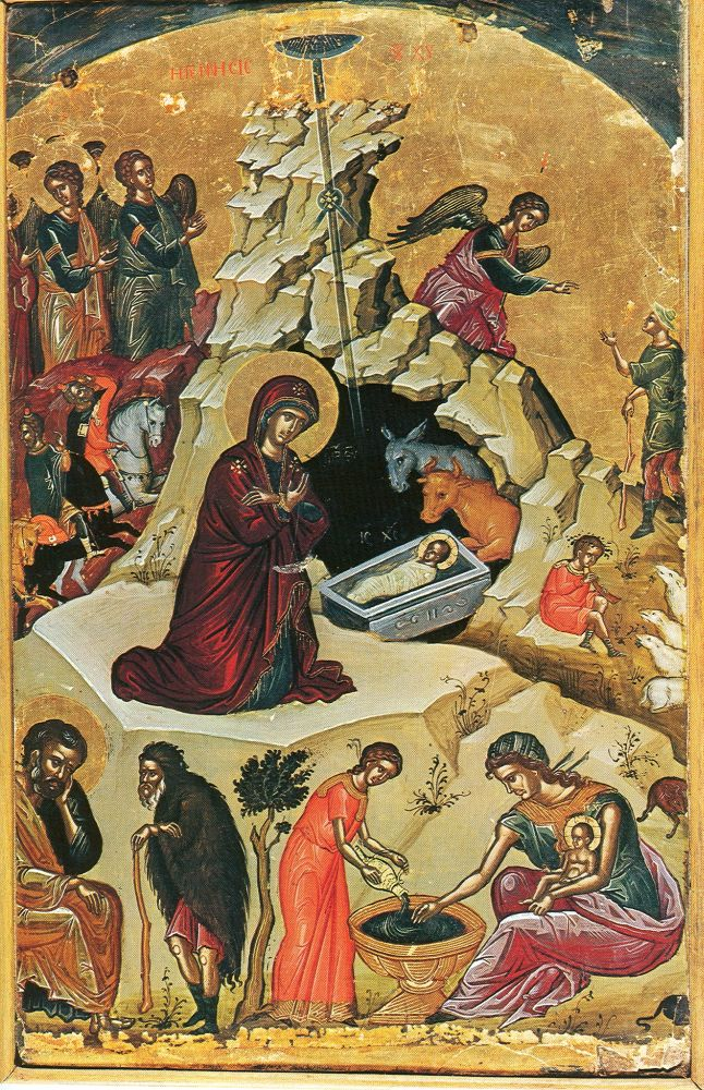 Рождество Христово. XVI век. Греция