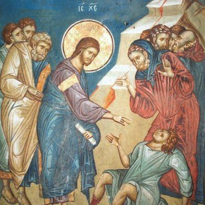 В Евангелии не описано ни одного случая молитвенного обращения к Иисусу как к Богу?