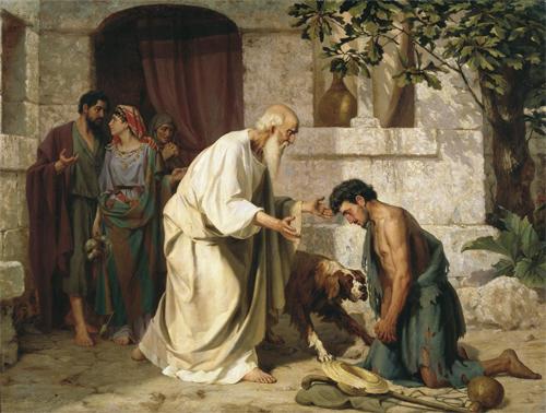 Объятия Отча… Неделя о блудном сыне