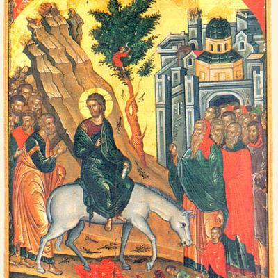 святитель Василий Кинешемский. Беседа на XI главу Евангелия от Марка