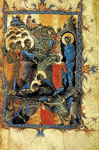 Синаксарь в Лазареву субботуй