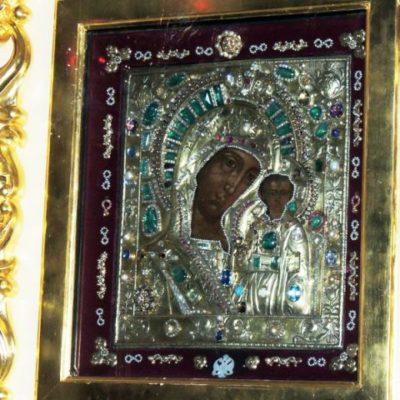 Чудо Казанской иконы Божией Матери