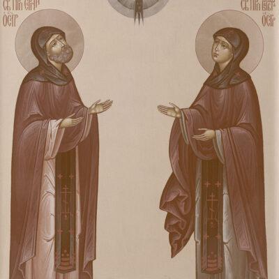 Духовный подвиг преподобных Сергия и Варвары (родителей Александра Свирского)